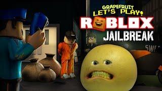 Grapefruit FAILS at ROBLOX: JAILBREAK!