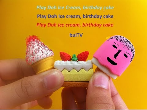 Play Doh Ice cream cupcakes playset playdough by Unboxingsurpriseegg 1