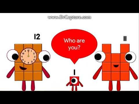 Numberblocks Animation - Twelve (part 1)