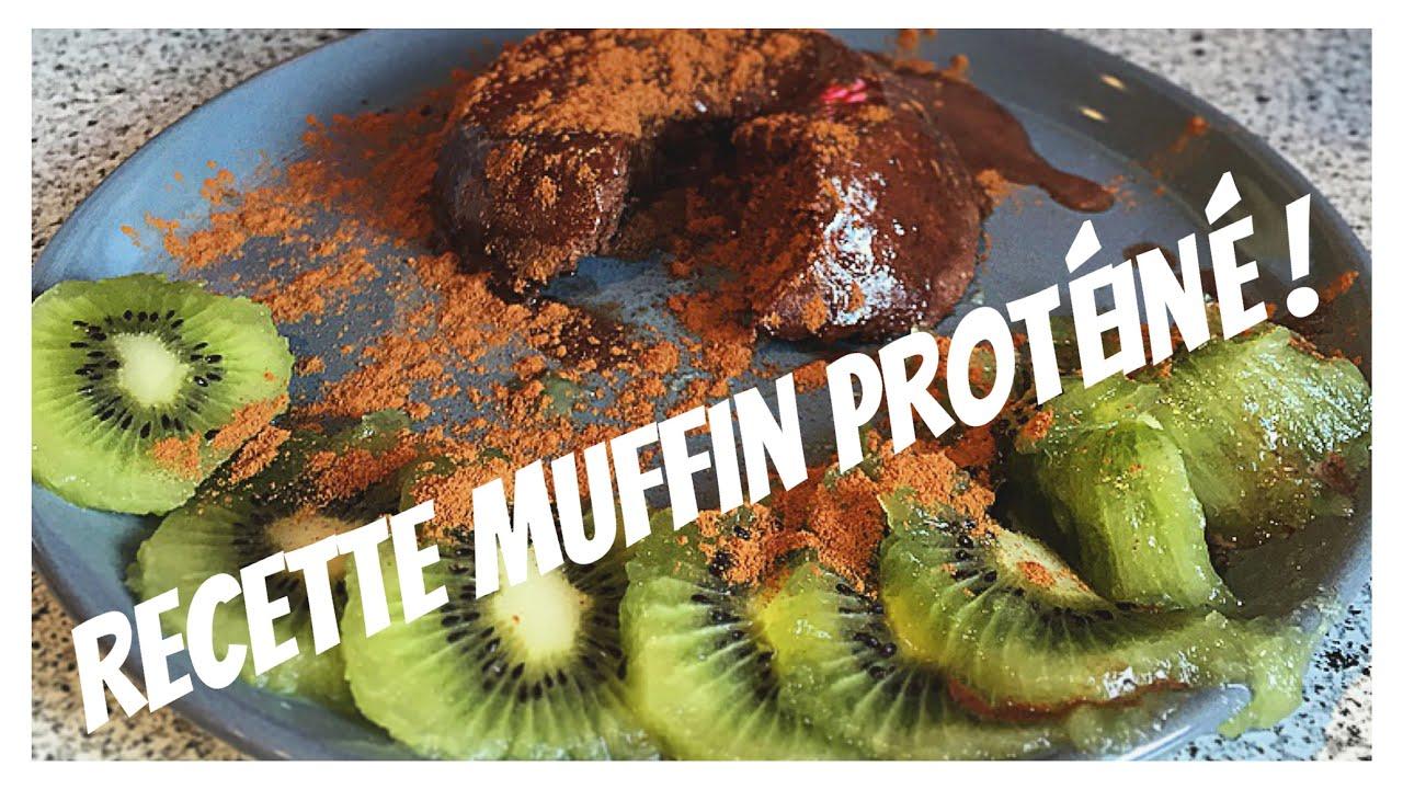 Préférence GROSGUIFIT : MUFFIN PROTEINES Recette rapide healthy pour  KL96