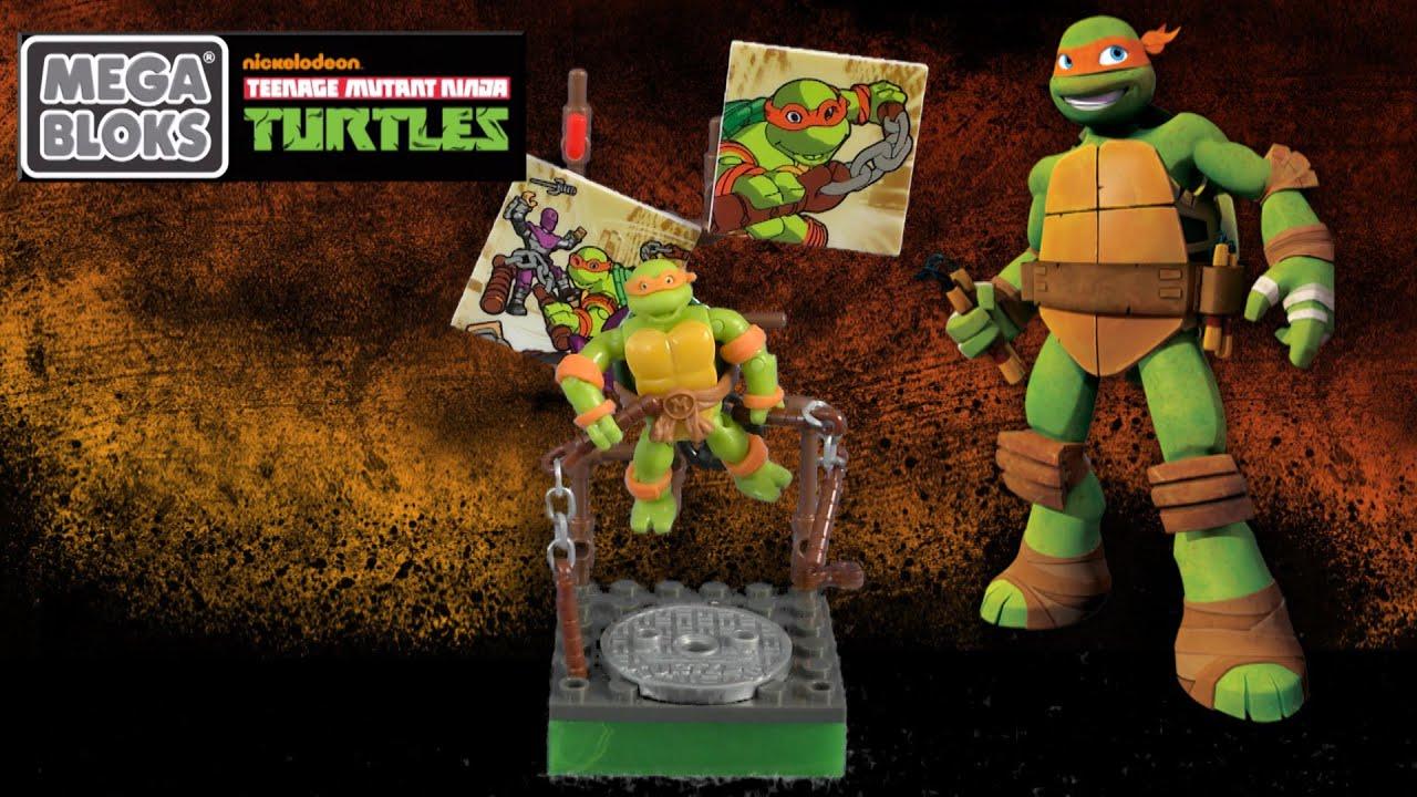 Te Teenage Mutant Ninja Turtles Tv Show - Teenage mutant ninja turtles michelangelo classic series from mega bloks youtube