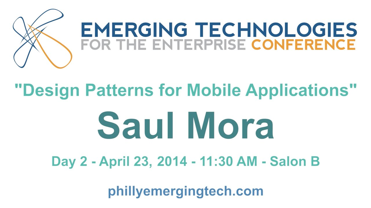 Philly ETE 2014 #13 - Design Patterns for Mobile ...