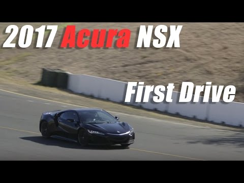 2017 Acura NSX | First Drive