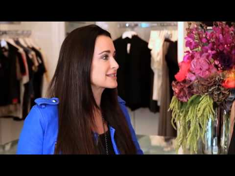 RHOBH Star Kyle Richards Takes Us on a Tour of Her New Store - Celebrity Interview