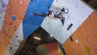 Adam Ondra insane indoor climb 8c on sight