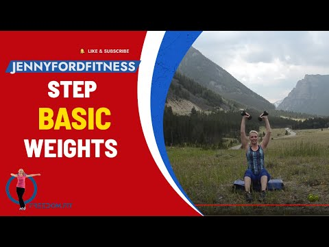 Montana Step and Weights 2- Total Body Workout Cardio Weight