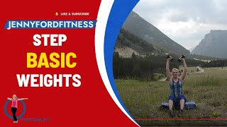 Montana Step And Weights 2- Total Body Workout Cardio Weights 5 Intervals
