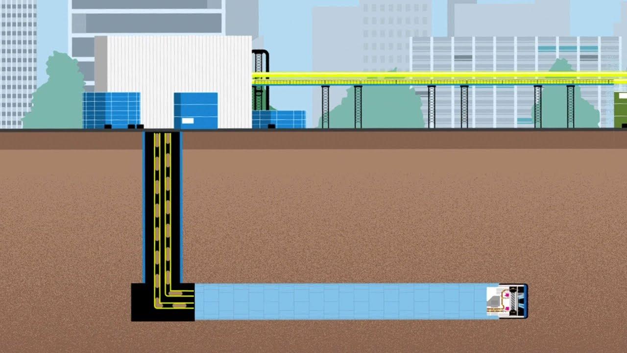 Les défis Eole : Comment évacuer plus d'un million de tonnes de déblais sans camion ?