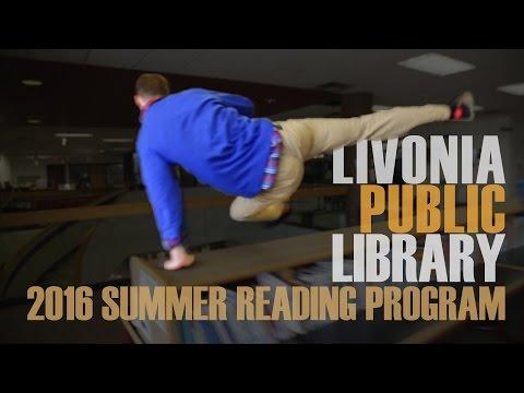 2016 Livonia Public Library Summer Reading Program ... Parkour!