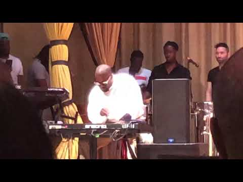 KANYE WEST came to Warryn and Erica Campbell's Church and LIT FIRE part 1