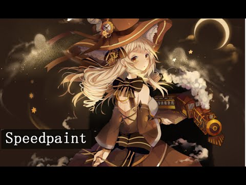 Paint Tool SAI Speedpaint - Living Factory (Steampunk Witch)
