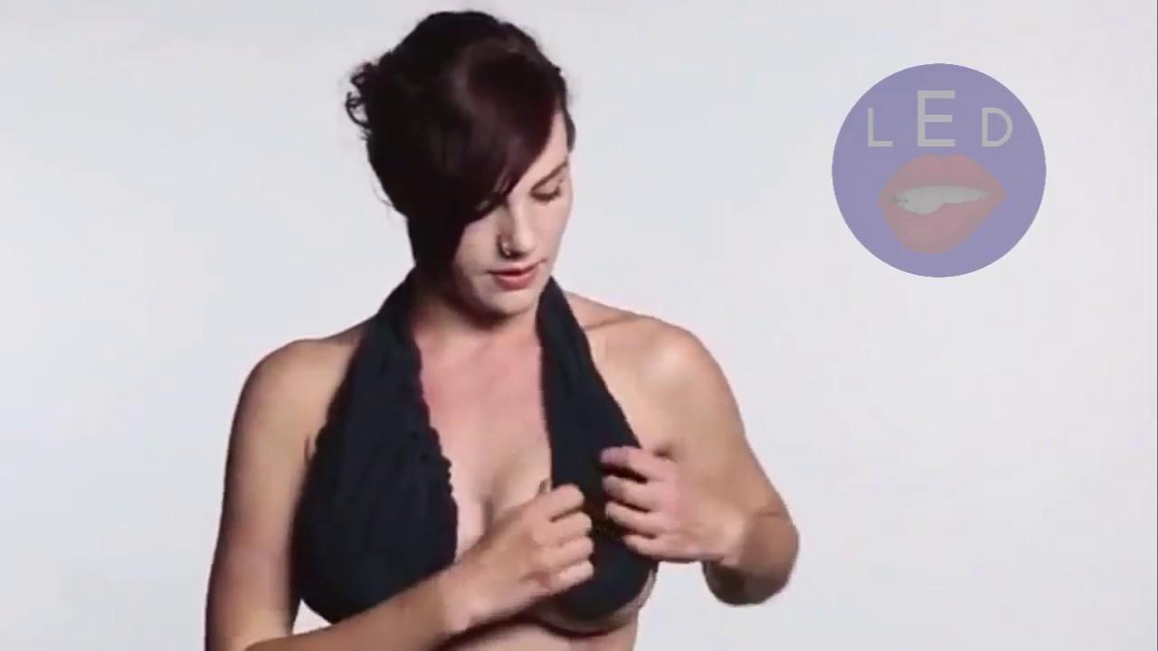 2817f37c17 Ladies Boob Sweat Ta Ta Towel Bra - YouTube
