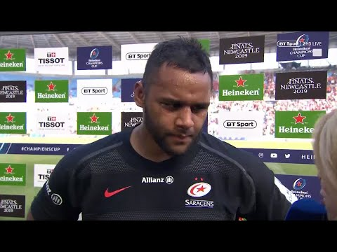 """""""I believe in what I believe in"""" Billy Vunipola addresses the recent controversy and his tweet"""