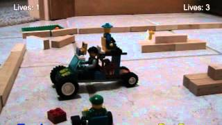 Yet Another Lego Mario Kart: Battle