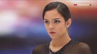 2019 World Championship Evgenia MEDVEDEVA Free Skating RUS Eurosport