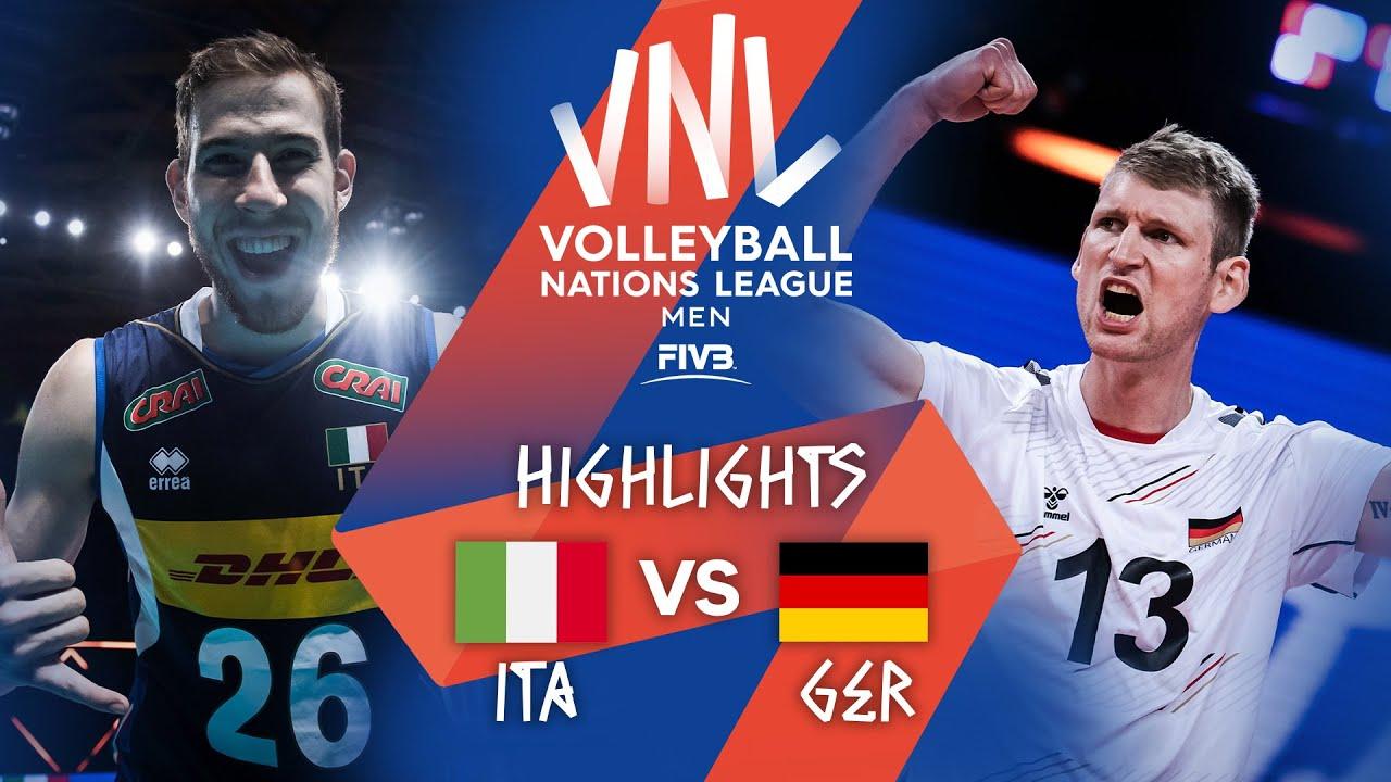 Download ITA vs. GER - Highlights Week 5   Men's VNL 2021