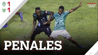 Tanda de Penales Completa - Marathon vs Antigua GFC #SCL20