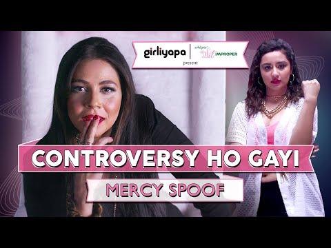 Controversy (Mercy Parody) ft. Maanvi Gagroo & Sanaya Pithawalla | Girliyapa Unoriginals