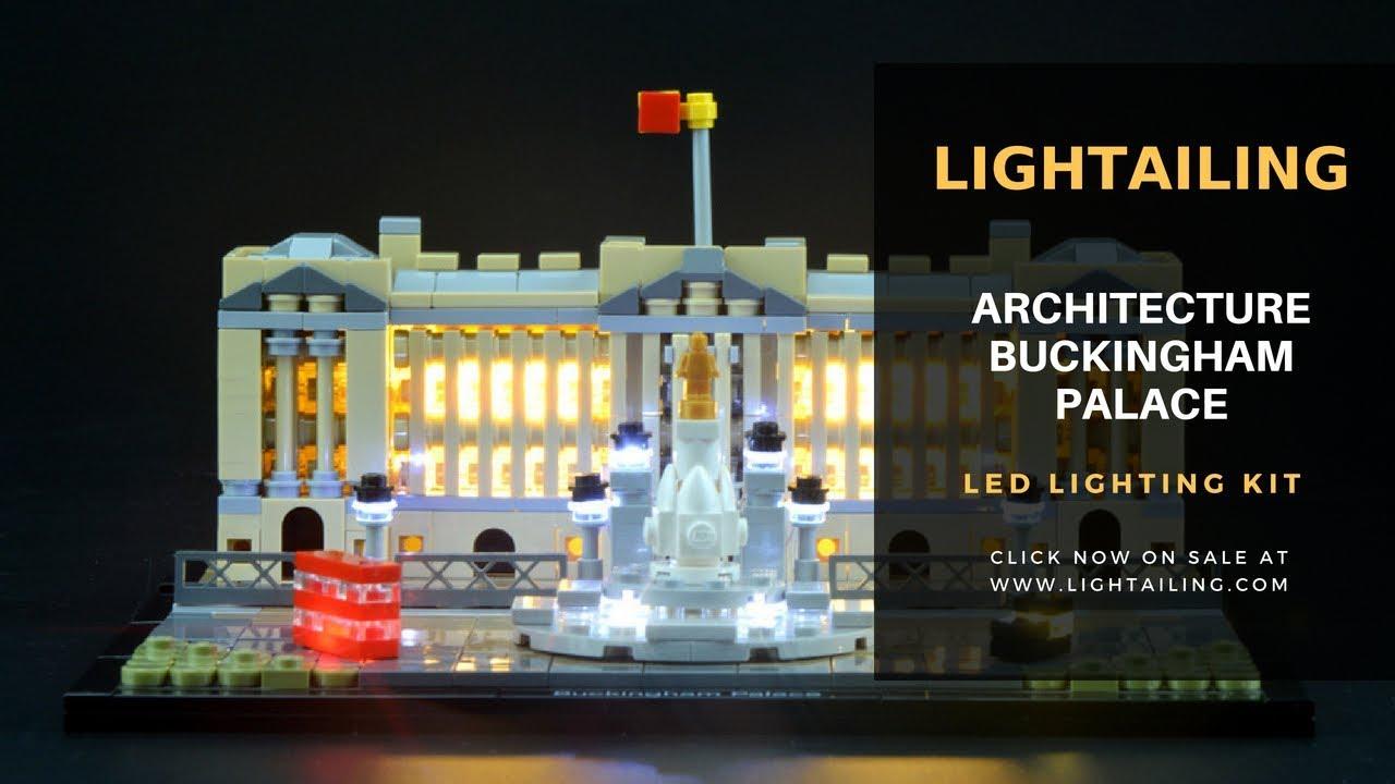 LED Light kit for LEGO Architecture 21029 Buckingham Palace 21029 LIGHTAILING