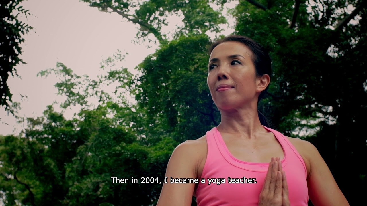 Yvette's Personal Yoga Story