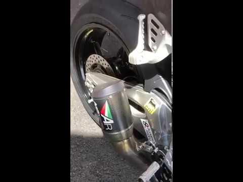 Aprilia RSV4 Austin Racing exhaust - AR管聲浪