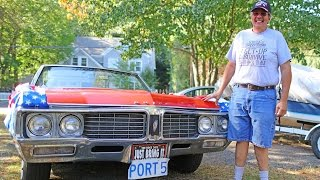 My neighbor TJ and his 1970 Buick Electra
