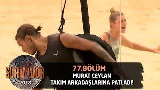 Murat Ceylan takım arkadaşlarına patladı! | 77. Bölüm | Survivor 2018 Video