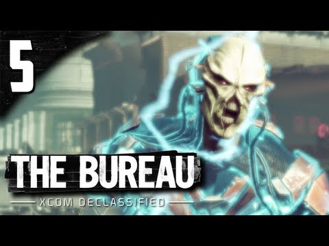 Let's Play The Bureau XCOM Declassified - Part 5 - The Doctor.  Rookies are Getting Some Action!
