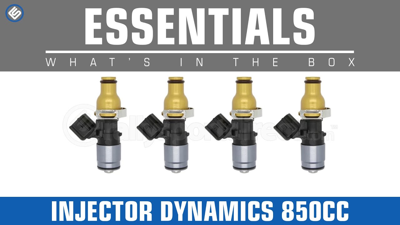Injector Dynamics 850cc Fuel Injectors (Subaru Fitment) - What's in the Box?