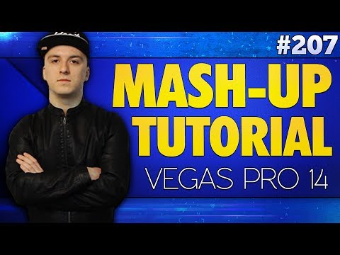 Vegas Pro 14: How To Make A Mashup With Songs - Tutorial #207
