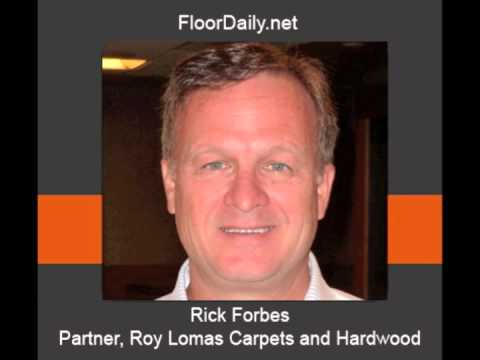 FloorDaily.net: Rick Forbes Discusses Roy Lomas Selection