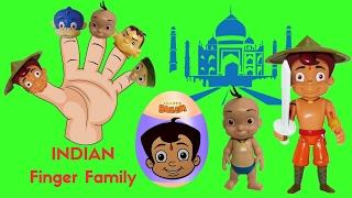 Chhota Bheem & Friends in Taj Mahal | Raju, Jaggu, Dholu, Kaalia play and sing toys | Finger Family