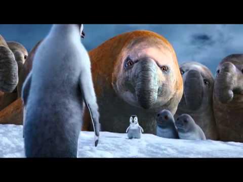 Happy Feet 2 Erik canta Mi padre mi heroe