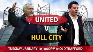 Manchester United vs Hull City Capital One Cup Semifinal En VIVO 10/01/2017