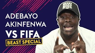 Akinfenwa Reacts To NOT Being The Strongest Player On FIFA! | Akinfenwa VS FIFA 18 🔥🔥🔥