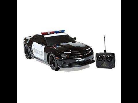 Chevrolet Camaro Coche Juguete De Policia De Control Remoto 1 18