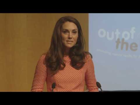 Heads Together | Duchess of Cambridge speech at Out of the Blue launch.
