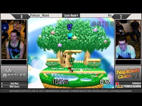 NCVI [64] - Professor_Wizard (Kirby) vs Box (Mario) - Losers Round 4