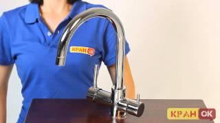 Смеситель для кухни ECA М517 102118005(Видео обзор смесителя на две воды ECA М517 102118005 Купить смеситель http://kranok.com/eca1615102118005 ------------------------------------------------..., 2014-07-22T17:03:08.000Z)