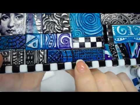Polymer Clay Tile Box