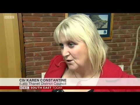 Karen Constantine on BBC South East Today: Port Budget Delay