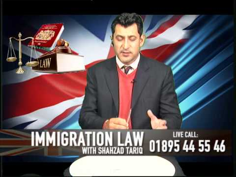 UK Immigration Law show with Mr. S Tariq