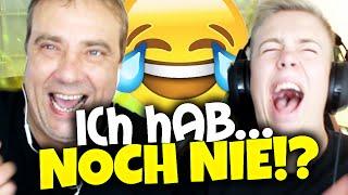 ICH HAB NOCH NIE! - mit MEINEM VATER & Danergy [SPECIAL FOLGE]