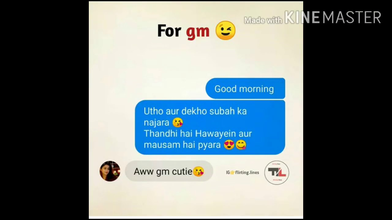 how to impress a girl on chat conversation