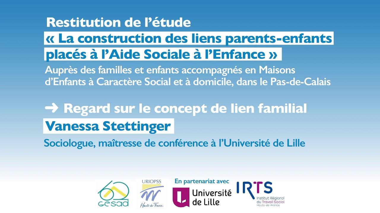 Youtube Video: [#PODCAST] La construction des liens parents-enfants placés à l'ASE - Le concept de lien familial