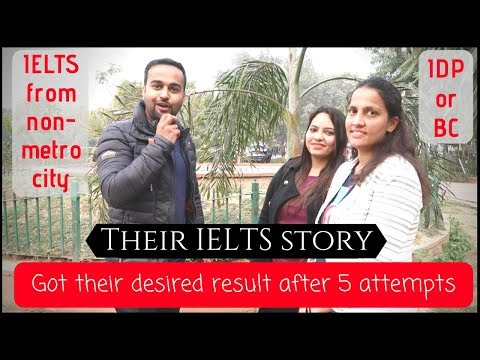 IELTS fever? Learn from their IELTS stories  - YouTube