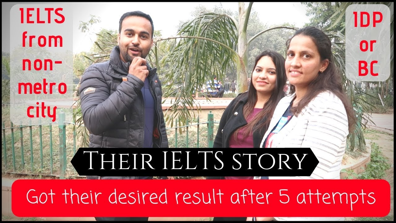 IELTS fever? Learn from their IELTS stories