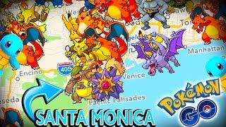 RARE POKEMON EVERYWHERE! Pokemon Go at the FAMOUS Santa Monica Pier!