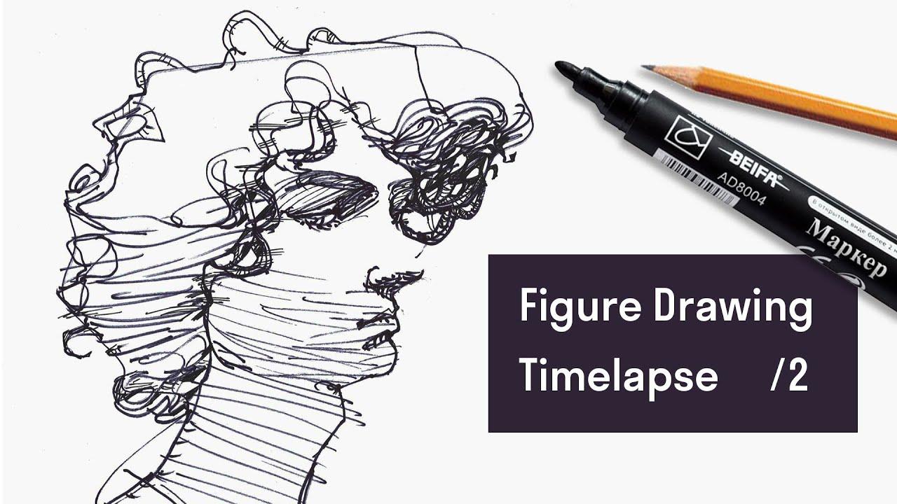 Figure Drawing. Time-lapse / Men