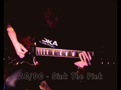 AC / DC - Sink The Pink (Guitar Cover)
